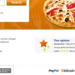 Commander sa pizza en Bitcoin