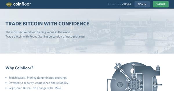 Coinfloor : Market Maker Bitcoin OTC