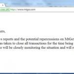 Bitcoin : MtGox demande sa liquidation