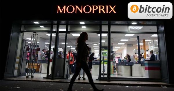 Monoprix accepterait le Bitcoin en 2014