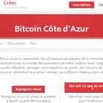 Rendez-vous Bitcoin : Meetup Sophia Antipolis