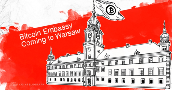 Ambassade Bitcoin à Varsovie