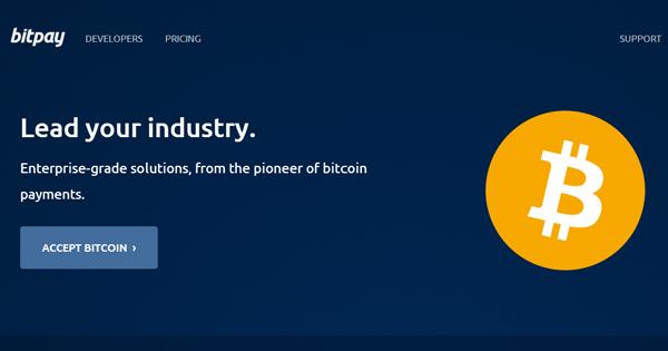 BitPay : 1 millions de dollars par jour