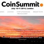 CoinSummit : conférence Bitcoin à Londres