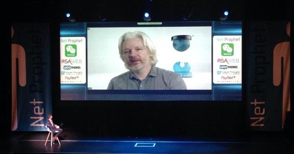 Julien Assange : développement Bitcoin