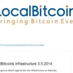 Localbitcoins : attaque en mai 2014