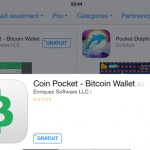 Application Bitcoin chez Apple