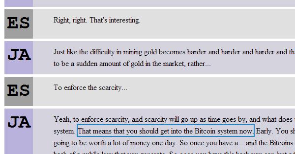 Julien Assange conseille Google sur le Bitcoin