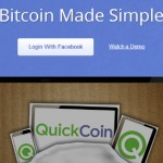 QuickCoin, une application Facebook pour Bitcoin
