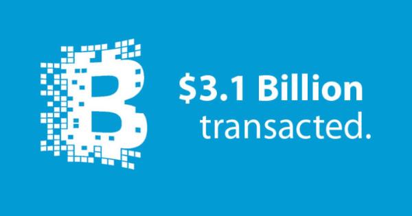 Blockchain.info : plus de 3 milliards de dollars