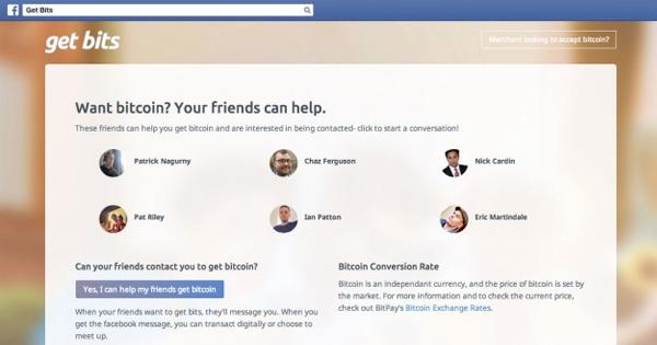 BitPay lance Get Bits, une application Facebook