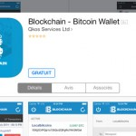 Blockchain : portefeuille Bitcoin sur iPhone