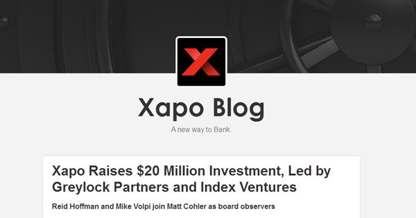 Portefeuille Xapo lève 40 millions de dollars