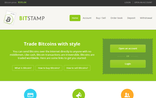 Bitstamp : tutoriel bourse bitcoin