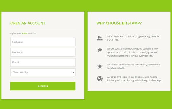 Bitstamp : tutoriel bourse bitcoin