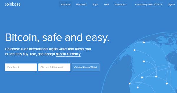 Coinbase : Portefeuille Bitcoin assuré