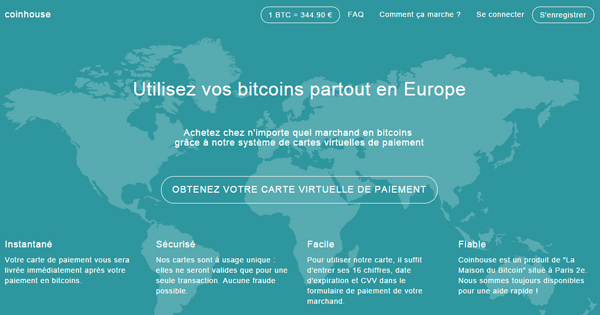 avis coinhouse acheter du bitcoin sur un site fran ais. Black Bedroom Furniture Sets. Home Design Ideas
