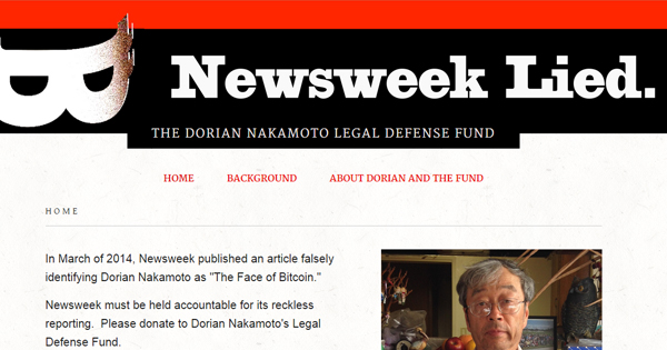 Newsweeklied : Nakamoto attaque Newsweek