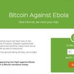Le don en Bitcoin pour lutter contre Ebola