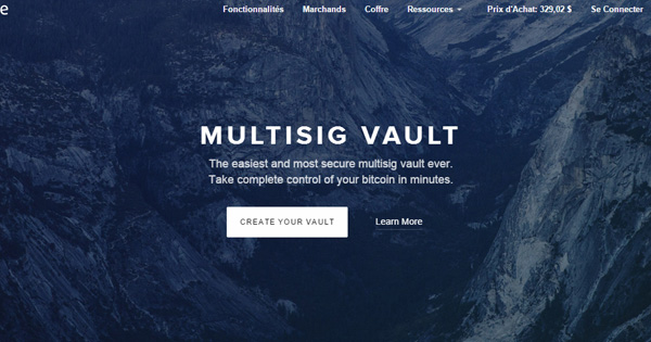 Coinbase : Portefeuille Multi Signature