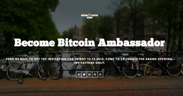 Ambassade du Bitcoin à Amsterdam