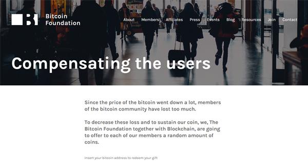 La Bitcoin Foundation victime de sites clones