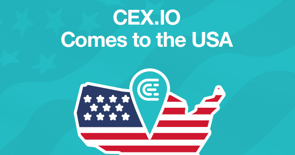 CEX.IO arrive aux USA !