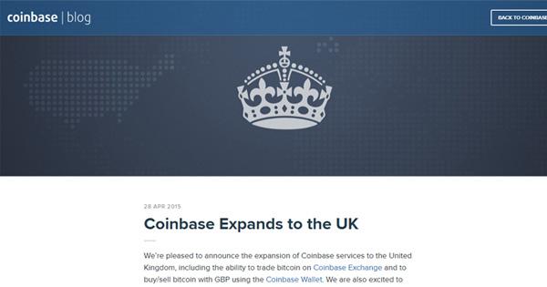 Coinbase convertit le pound anglais en Bitcoin