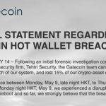 Piratage Gatecoin